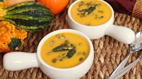 Butternut Squash Soup   #Homemade