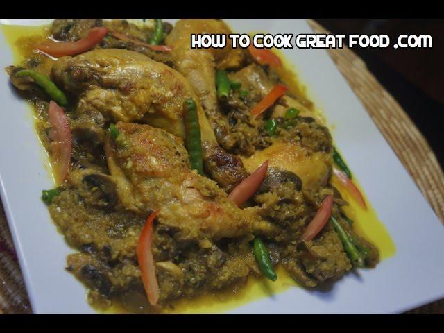 Ethiopian chicken mushroom recipe alicha amharic for Abol ethiopian cuisine