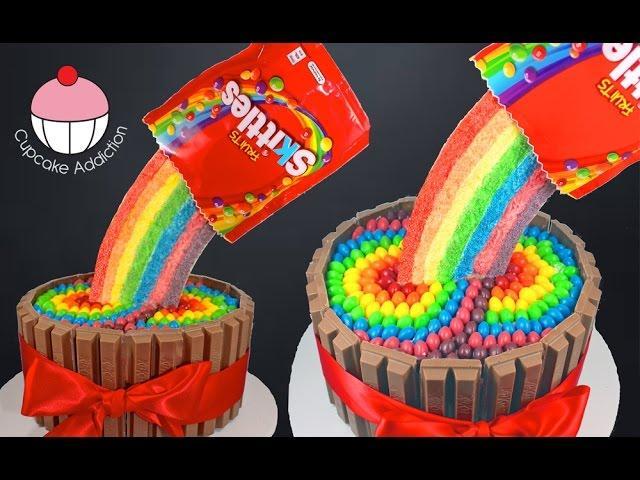 Skittles Cake Cookies Cupcakes And Cardio