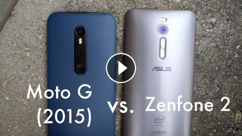 Motorola Moto G 2015 Vs Asus Zenfone 2