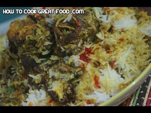 Fish Biryani Recipe - Indian King Fish Rice - लजीज फिश बिरयानी