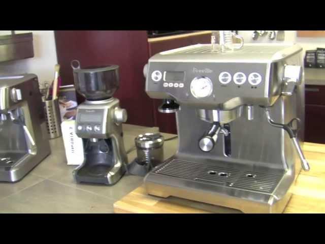 breville barista express espresso machine 870xl