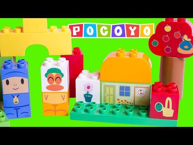 Pocoyo Block Labo Mi Ciudad Pocoyó Blocks Mega Bloks My City Building Toys Покојо