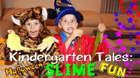 Kindergarten Tales: Halloween Time Fun!