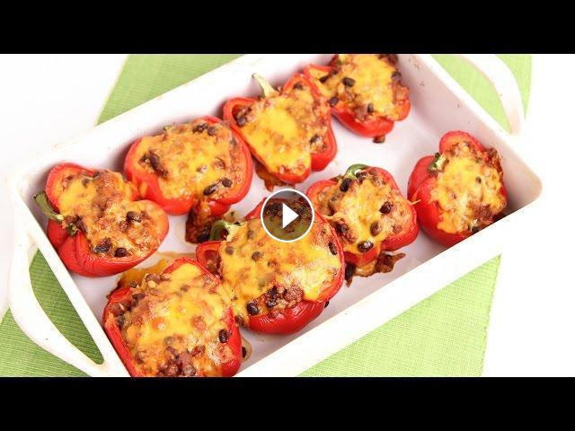 Chili stuffed peppers recipe laura vitale laura in the kitchen chili stuffed peppers recipe laura vitale laura in the kitchen episode 820 forumfinder Images