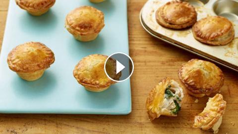 Giadas Mini Chicken And Broccoli Pot Pies Food Network