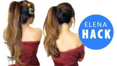 DISNEY ELENA Hairstyle HACK