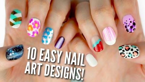 Nail art for beginners using a toothpick 2 10 easy nail art designs for beginners the ultimate guide prinsesfo Image collections