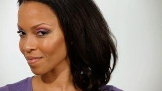 How to Apply Pink Eye Shadow | Black Women Makeup