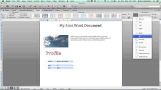 how to make a pamphlet on microsoft word 2010