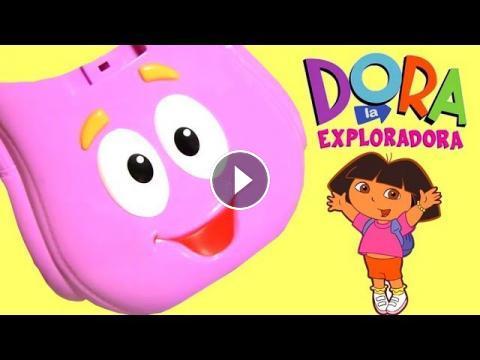 De Dora Mochila La Huevos Exploradora Sorpresa Juguetes En Y9eEDH2IW
