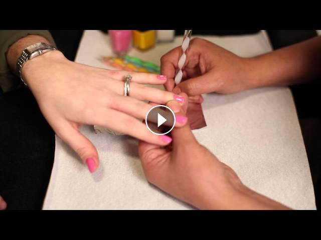 How to do flower nails on small nails nail designs prinsesfo Images