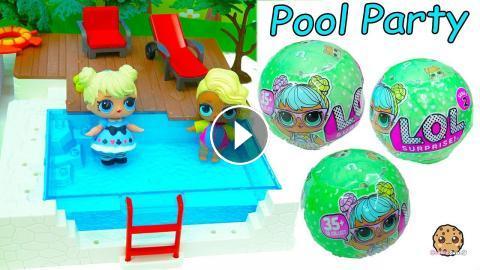 Lol Surprise Big Sister Baby Doll Blind Bag Balls Pool