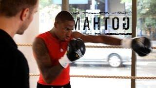 How to Corner to Corner Shadow Box | Boxing Lessons