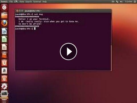 Linux Terminal Tutorial - Basic Terminal Commands (Ubuntu