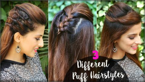 2 Min Cute Everyday Hairstyles For School College Work Quick