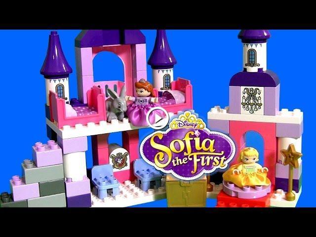 Lego Duplo Sofias Royal Castle Disney Princess Sofia The First