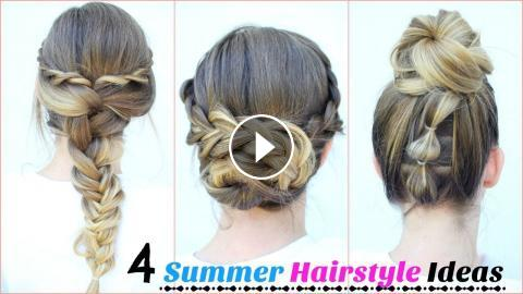 4 Easy Hairstyle Ideas For Summer Hairstyles Braidsandstyles12