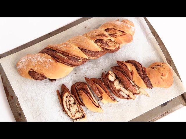 Braided Nutella Bread Recipe - Laura Vitale - Laura in the Kitchen ...