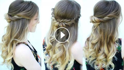 Diy Graduation Hairstyle Ideas 2018 Braidsandstyles12