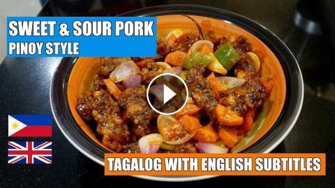 How To Make Sweet Sour Pork Pinoy Style Sweet N Sour Pork