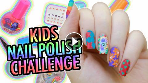 My little pony nail art kids nail polish challenge prinsesfo Gallery