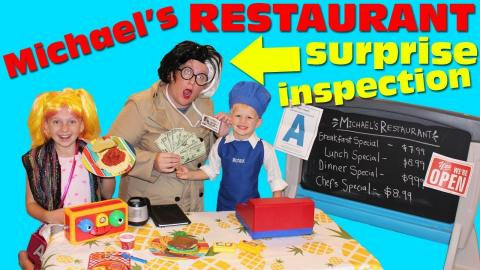 Michaels Restaurant Surprise Inspection