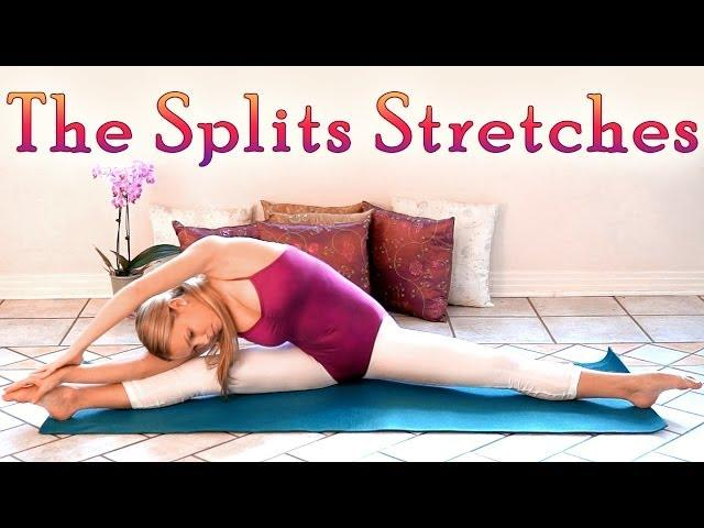 Flexibility Stretches For How To Do The Splits - Stretch Routine