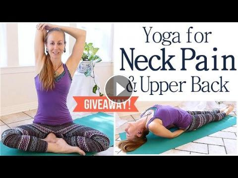 easy neck  back pain stretches  exercises 10 minute