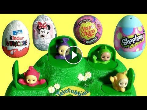 Teletubbies Pop Up Surprise Baby Toys Tinky Winky Dipsy Laa Laa