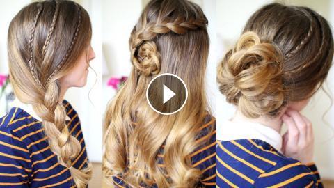 Easy Everyday Hairstyles   Braided Hairstyles   Braidsandstyles12