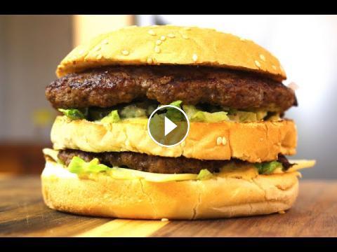 Nicko S Kitchen Big Mac