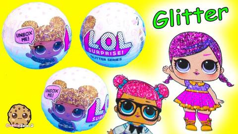 LOL Surprise Glitter Series Blind Bag Baby Doll Balls - Pee, Cry, Color Change or Spit ?