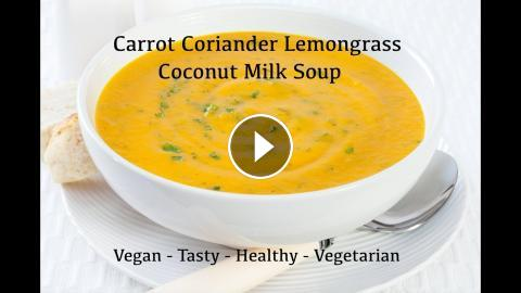 Carrot coconut corn lemongrass soup recipe vegan carrot coconut corn lemongrass soup recipe vegan as part of the how to cook great network also take a look at our channel for other great cooking forumfinder Images