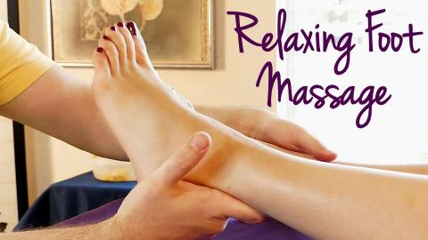 How to massage feet for relaxation pain relief hd foot massage hd foot massage tutorial how to massage feet relaxing music spa techniques voltagebd Image collections