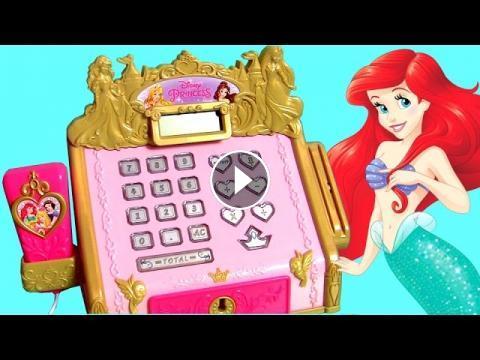 Disney The Little Mermaid Ariel Royal Cash Register Toy