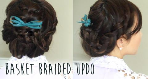 Basket Braided Updo
