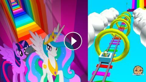 Super Amazing Rainbow Ride + My Little Pony Roblox Online Video Game