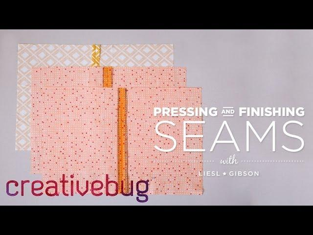 How to Finish a Seam - with Liesl Gibson