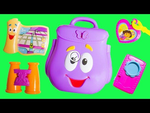 Dora surprise eggs dora the explorer backpack mochila de - Cocina dora la exploradora fisher price ...