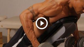How To Do A Prone Bench Row