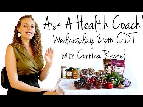 Ask A Health Coach Live Weight Loss Diets Wellness Q A With