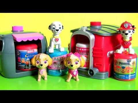 Paw Patrol Pup 2 Hero Skye Marshall Playset Toys Surprise Mashems