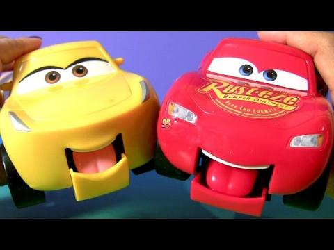 Disney Pixar Cars 3 Funny Talkers Cruz Ramirez & Lightning McQueen Car Toys for Kids by FUNTOYS