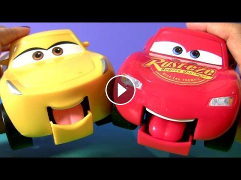 Disney Pixar Cars 3 Funny Talkers Cruz Ramirez Lightning Mcqueen