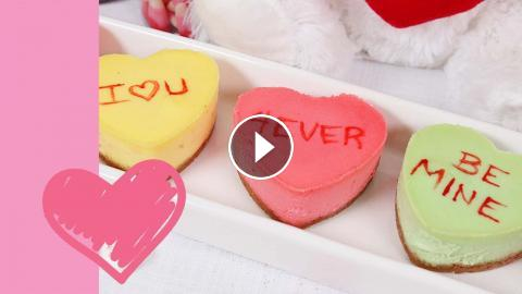 Heart Shaped Cheesecakes Valentine S Day Edible Gifts