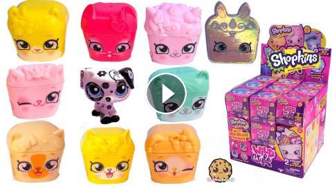 Limited Edition Unicorn Surprise Blind Bags Shopkins Season 9 Toy Video