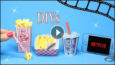 DIY School Supplies DIYs To Do When Your Bored Supply Hacks 5 Minute Crafts Fun Easy In This Vid