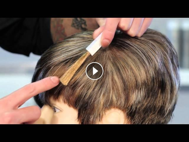 How to cover gray with highlights of light brown hair hair subscribe now watch more keeping in mind that you cannot cover gray hair unless you use permanent hair color cover gray with highlights of light br pmusecretfo Gallery
