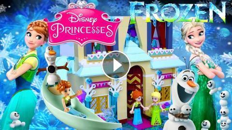 Lego Disney Frozen Fever Arendelle Castle Celebration The Birthday